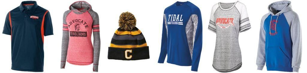 HIGH SCHOOL SPIRIT WEAR